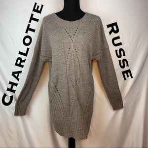 Charlotte Russe Oversized Large Knit Sweater